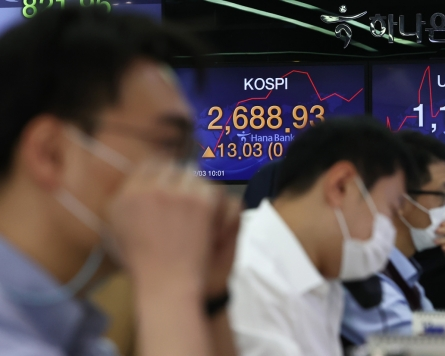 Seoul stocks open nearly flat on valuation pressure