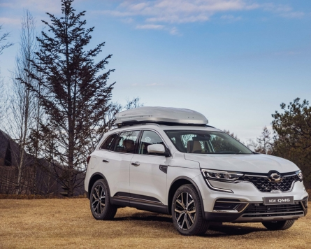 Renault Samsung's QM6 climbs sales chart