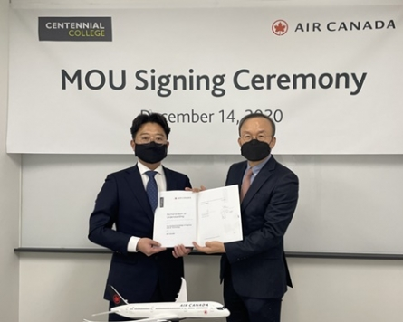 Centennial College and Air Canada partner to give Korean students an easier path to Canada