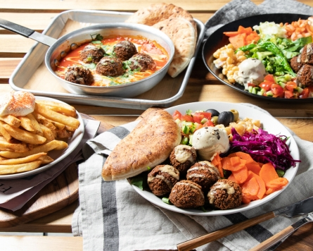 Healthyish, Mediterranean fare at Chick Peace