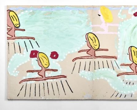 Rose Wylie's first museum exhibition in Korea brings bold, bright vibe