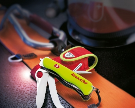 Victorinox Rescue Tool to deal with black ice encounters