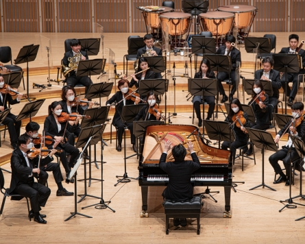 Pianists make their way to podium