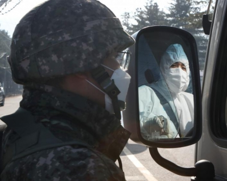 5 military-affiliated people test positive for new coronavirus