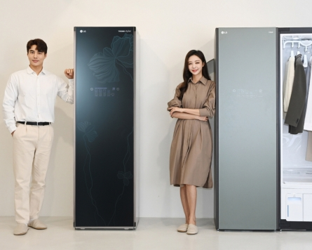 10th anniversary of Styler: Electronic closet invented by LG creates new market