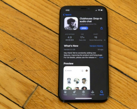 Audio social media app Clubhouse takes off in S. Korea