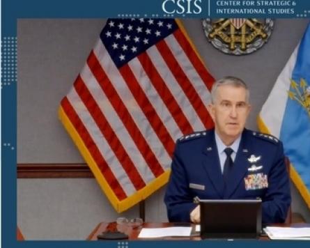 US missile defense 'clearly focused' on N. Korea: Gen. Hyten