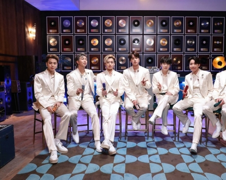 BTS earns 2nd 'million point' song on Oricon chart with 'Dynamite'