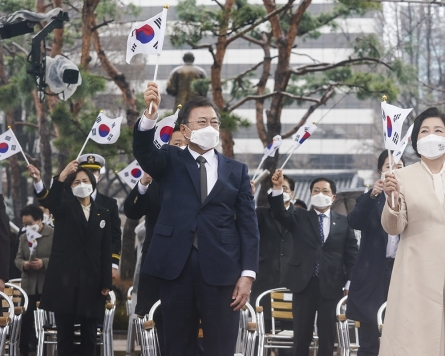 Moon says South Korea ready for talks with Japan to mend ties