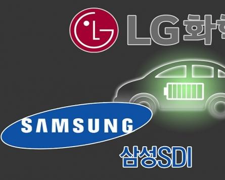 LG Energy Solution ranks 2nd in global EV battery market in Jan.