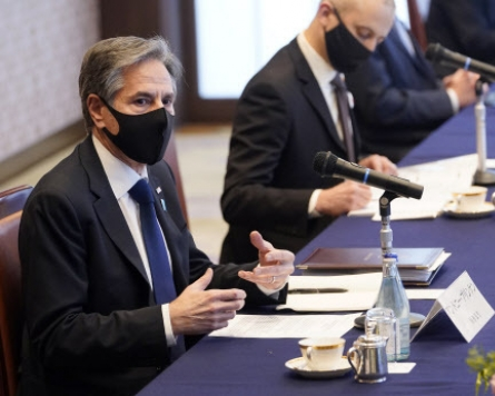Blinken says US is looking at pressure measures, diplomatic paths, in NK policy review
