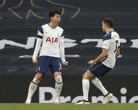Tottenham's Son Heung-min ties Premier League career high with 14th goal of season