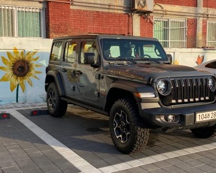 Iconic exterior makes Jeep Wrangler shine