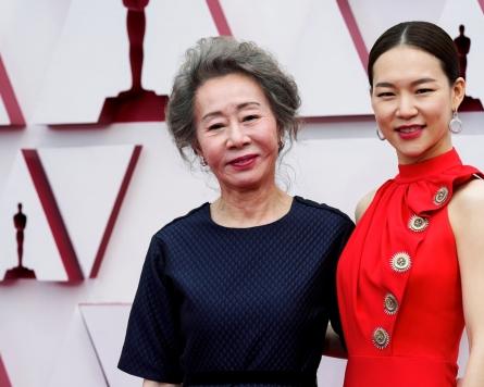 [Photo News] Youn makes history at the Oscars