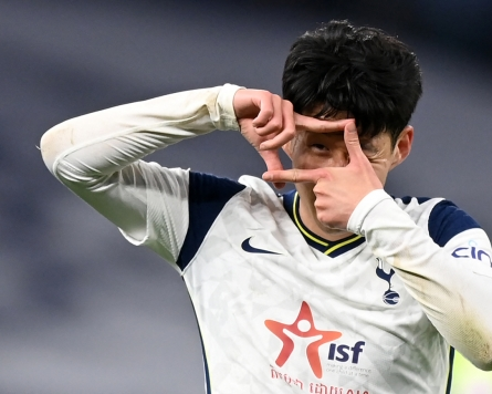 Tottenham's Son Heung-min ties career high with 21st goal of season