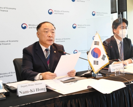 S. Korea, China, Japan express concern over uneven economic revival in Asia