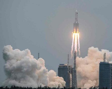[Newsmaker] China says rocket debris landed in Indian Ocean west of Maldives