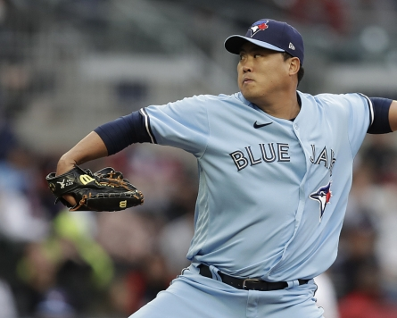 Blue Jays' Ryu Hyun-jin goes 7 strong vs. Braves for 3rd win of season