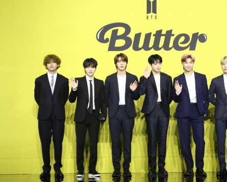 [Photo News] BTS holds global press conference for new single 'Butter'