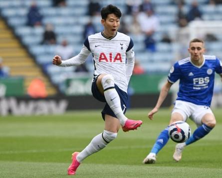 Tottenham's Son Heung-min ends 6th Premier League season with career-best 17 goals