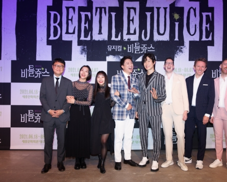 Musical 'Beetlejuice' arrives in Seoul for first run outside of Broadway