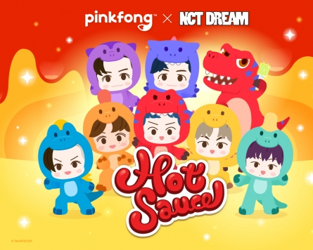 Smartstudy drops animated version of NCT Dream's 'Hot Sauce'