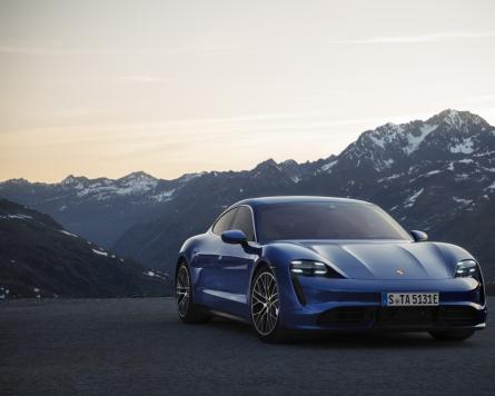 Porsche Korea launches Taycan Turbo in S. Korea