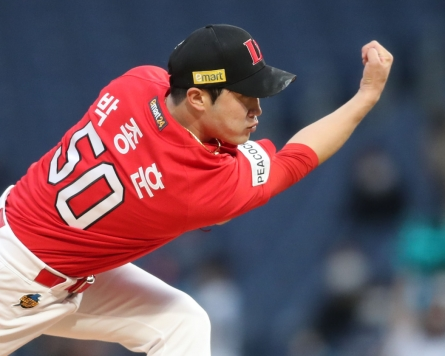 KBO-leading Landers lose ace to elbow injury; another starter sidelined