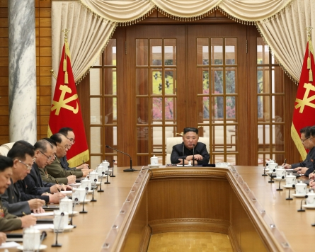 NK leader presides over politburo meeting in first public appearance in a month