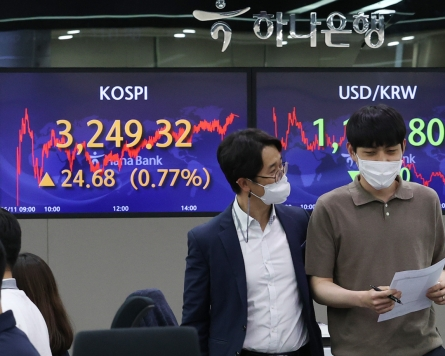 Seoul stocks up for 2nd day as investors disregard US inflation