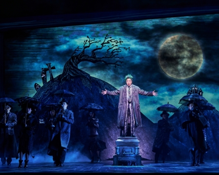 [Herald Interview] 'Beetlejuice' the ideal comedy musical: actor Jung Sung-hwa