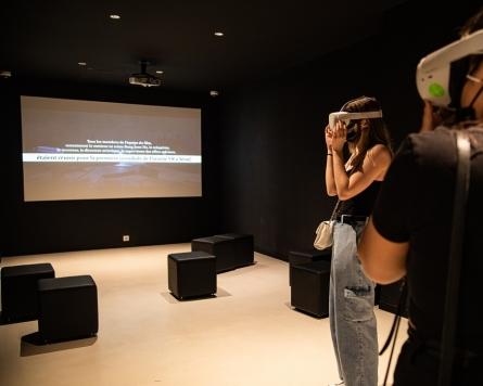 "Exhibition displaying VR content on Oscar-winning ""Parasite"" kicks off in Paris"