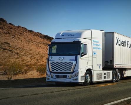 Hyundai Motor's hydrogen trucks to start rolling in California from 2023