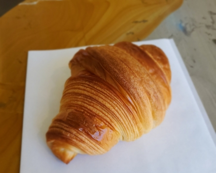 Classic and laugencroissants in Bukchon