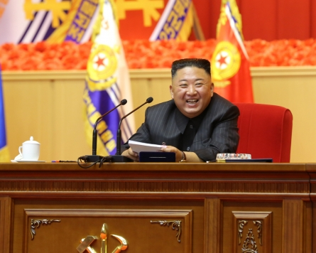 NK leader accuses 'hostile forces' of intensifying 'war drills for aggression'