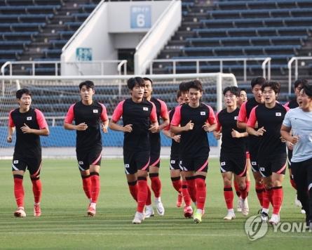 (Olympics) S. Korea football coach ready for fresh start in knockouts