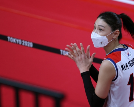 [Tokyo Olympics] Volleyball great Kim Yeon-koung retires from int'l play
