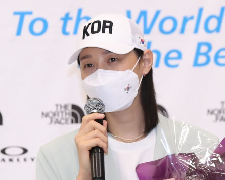 Volleyball great Kim Yeon-koung leaves door open for return to int'l play