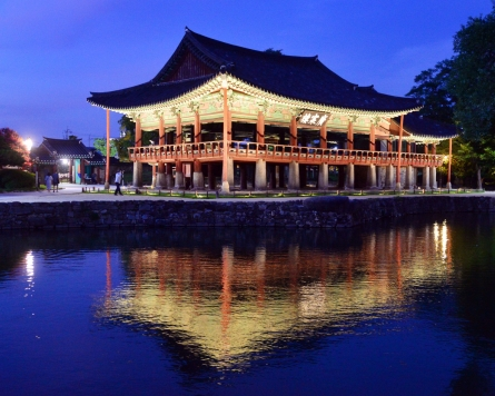 Gwanghalluwon, old garden bearing love story of Chunhyang