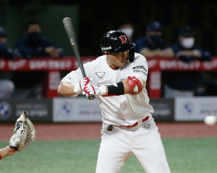 KBO's top baseball magnet passes MLB mark with 288th hit-by-pitch