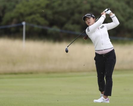 Kim Sei-young tied for 1st round lead at LPGA season's final major