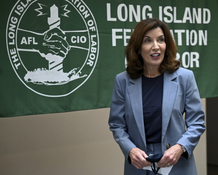 As Cuomo exits, Hochul to take office minus 'distractions'
