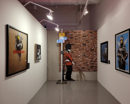 Banksy Seoul show embroiled in replica controversy