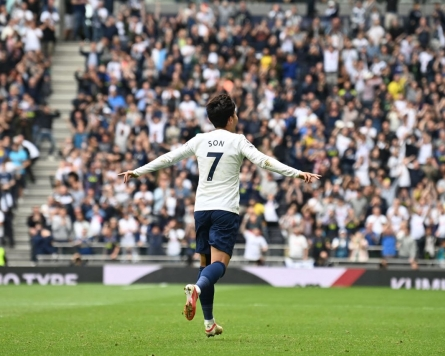 Tottenham's Son Heung-min quells injury concerns with 2nd goal of season