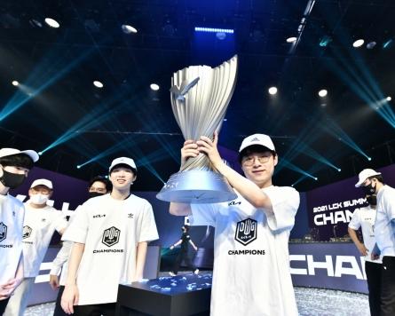 Damwon defeats T1 to win LCK Summer