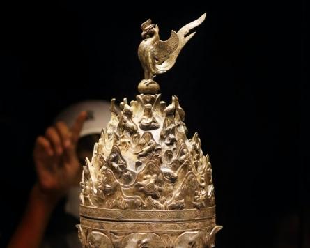 [Visual History of Korea] The Baekje Empire of East Asia distilled in gilt-bronze incense burner