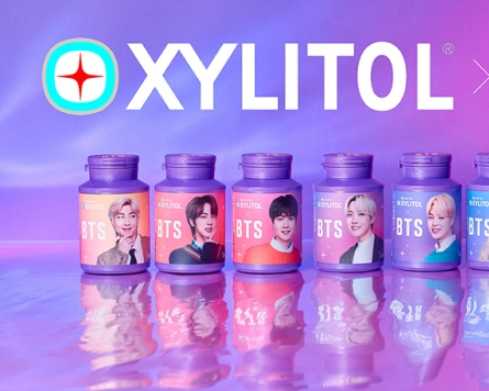 Lotte Confectionery to release special BTS edition for Xylitol chewing gum