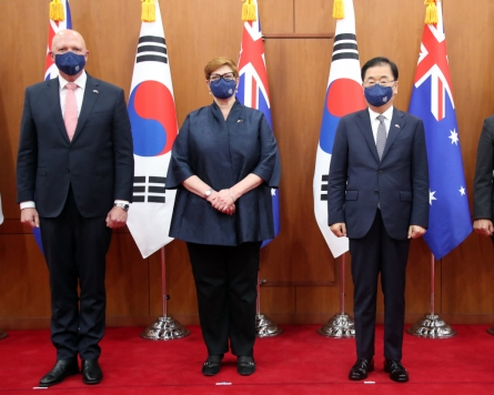South Korea, Australia stress security cooperation to tackle mutual challenges