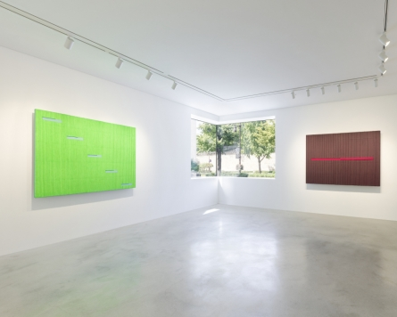 Park Seo-bo holds second solo exhibition at Kukje Gallery