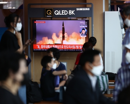 North Korea ups tension with ballistic missile launches
